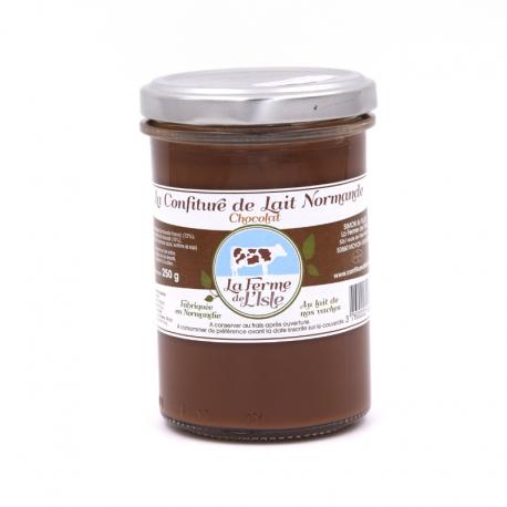Confiture de Lait au chocolat 250 g.