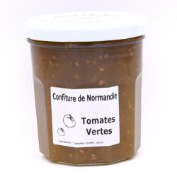 Confiture de Tomate verte, pot de 370g.
