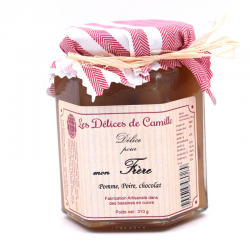 """""""Délice pour mon Frère"""", pot de 310g."""