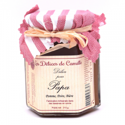 """""""Délice pour Papa"""", pot de 310g."""