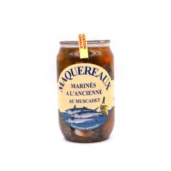 Maquereaux, marinés à l'ancienne au muscadet, bocal de 0.800 kG.