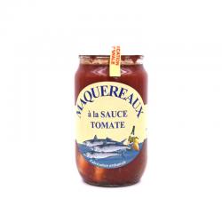 Maquereaux, à la sauce tomate, bocal de 0.800 kG.