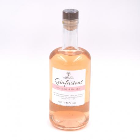 Gin rhubarbe 50 cl