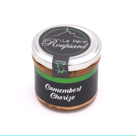 Camembert chorizo 100 G Père Rouspard