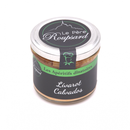 Livarot Calvados 100 G Père Rouspard