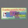 Un Lot de 5 Cartes postales Heula